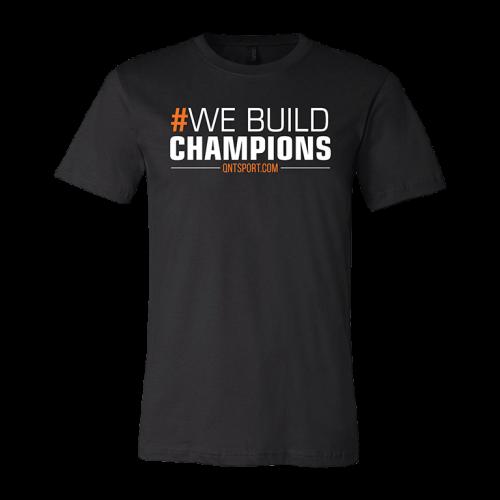 """QNT T-shirt """"We build..."""