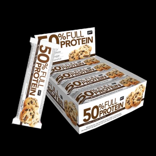 50% Full Protein Bar...